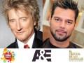 A&E Viña 2014 Rod Stewart y Ricky Martin