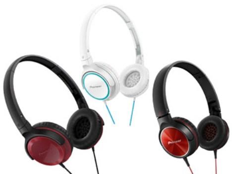 Pioneer presenta su nueva línea de auriculares