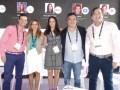 """Panel """"La música y el negocio OTT"""": Oscar Castellano, Alejandra Olea, Mónica Piriz Fernández, Dennis Murcia y Javier Asensio"""