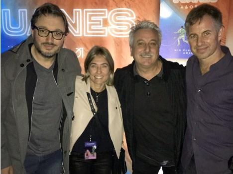 Diego Poso, Ana Clara, Ortiz, Carlos Gambini y Alejo Smirnoff.