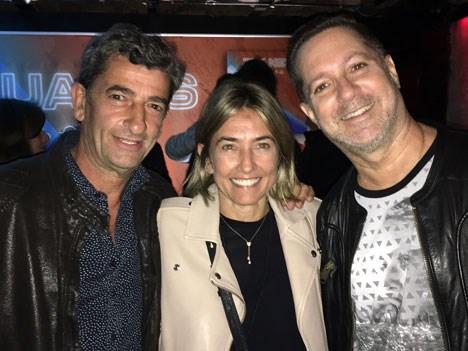 Eduardo Carmona, Ana Clara Ortiz y Paul Kirzner