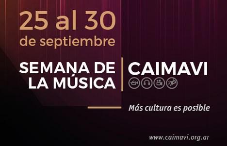 Primera edición de la Semana de la Música CAIMAVI