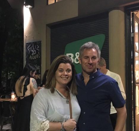 María García del Luna Park y Alejo Smirnoff, de Prensario
