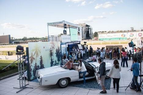 Activación del Banco Patagonia en el show de Maroon 5