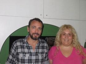 Patricio Hernández y Mariana Bariandarán