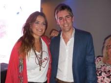 Maju Lozano y Federico García Tiberti, marketing manager de Poett