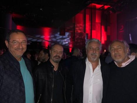 Fernado Moya, Gustavo Radaelli, Carlos Gambini y Daniel Yankelevich