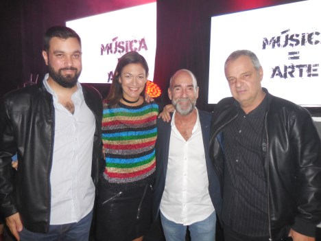 Pablo Glattstein, Mariela Croci, Quique Prosen, Daniel Morano