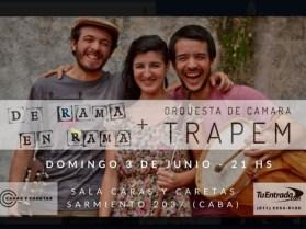 De Rama en Rama presenta su disco junto a la Orquesta de Cámara Trapem