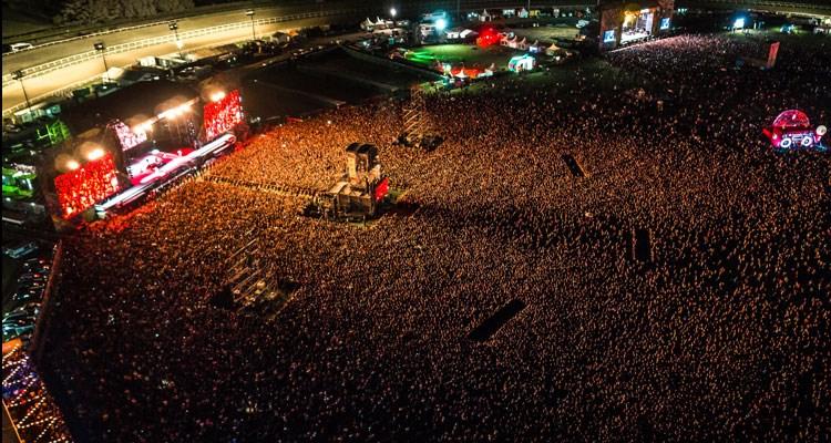 Metallica frente a 100.000 personas en la cuarta edición de Lollapalooza Argentina
