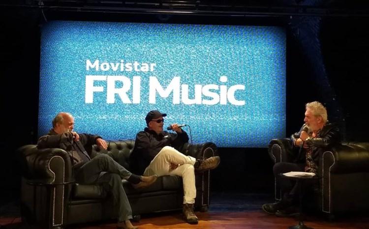 Timmy Mackern y Germán Daffunchio junto a Lalo Mir.