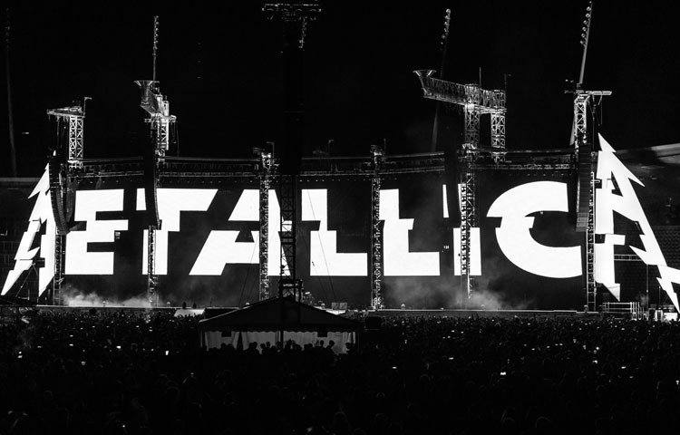 Metallica reprograma su gira por Latinoamérica