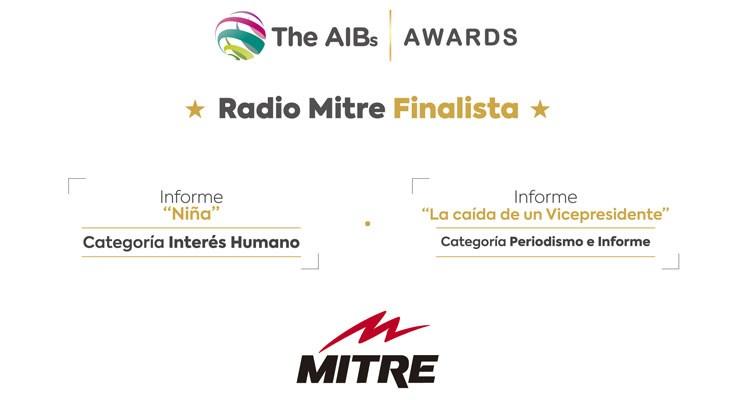 Radio Mitre finalista en los Premios AIBs de Londres