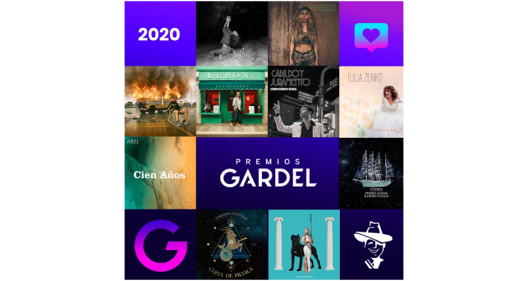 Premios Gardel 2020: Ya se puede votar en la categoría Canción del Año
