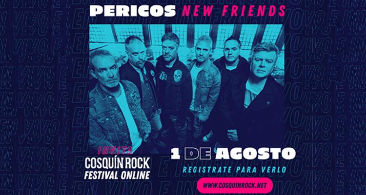 Cosquín Rock •Festival• Online presenta Pericos New Friends