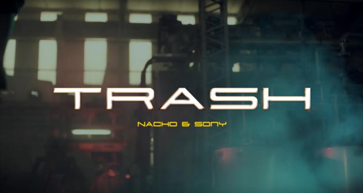 Nacho A.K.A Augenuino y G Sony estrenaron Trash