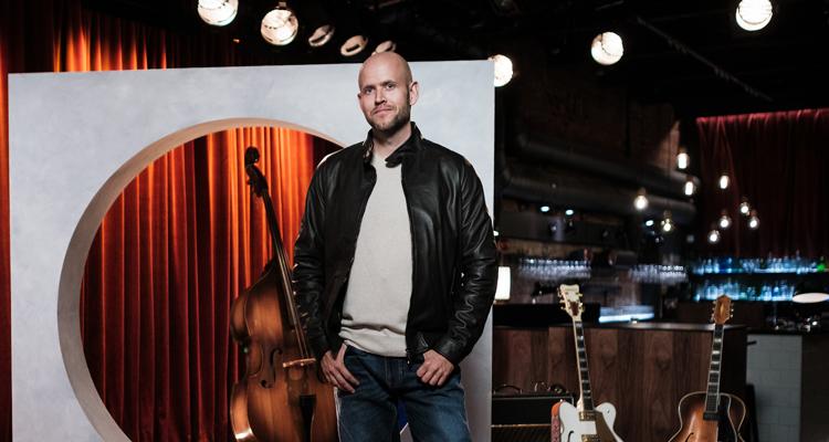 Daniel Ek, CEO y fundador de Spotify